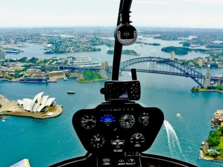 Harbour Flights by Helicopter