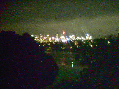 Skyline Webcam showing Night Colour Image